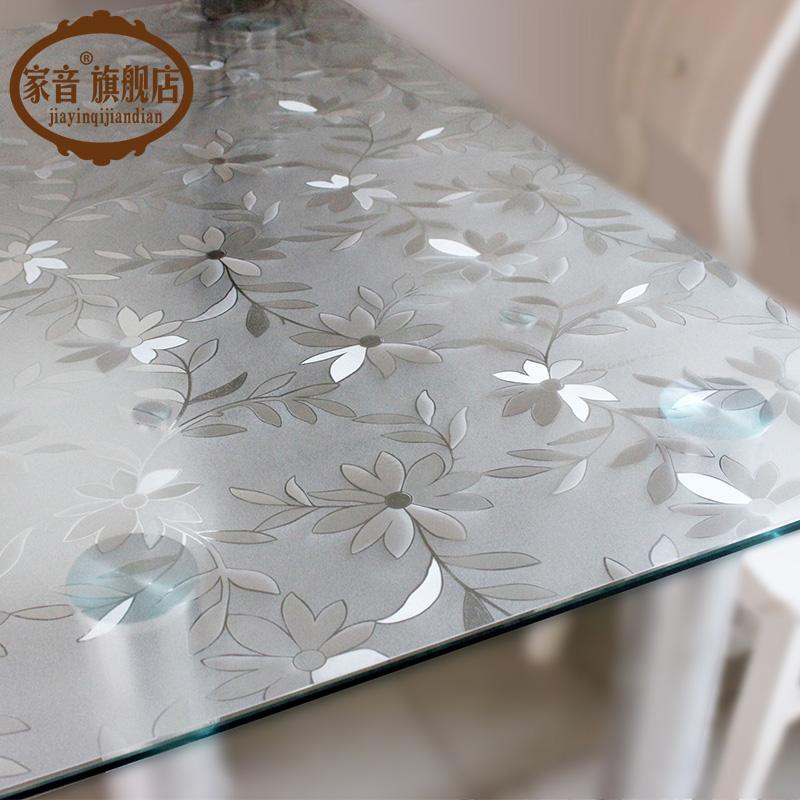 Pvc скатерть геометрическом масло мягкий стекло пластик стол подушка одноразовый кофейный столик подушка около скатерть кристалл доска
