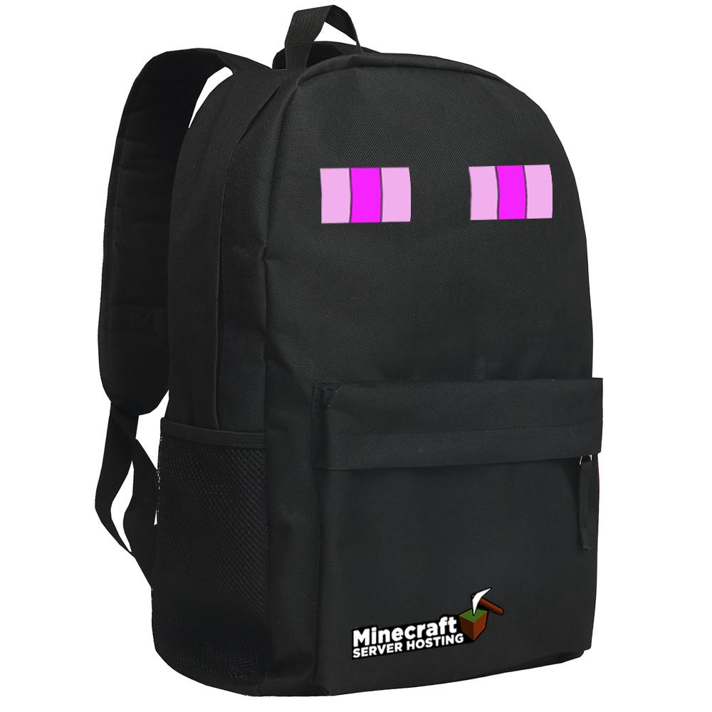 我的世界 書包 雙肩包 背包 包包 周邊 末影人 minecraft 苦力怕