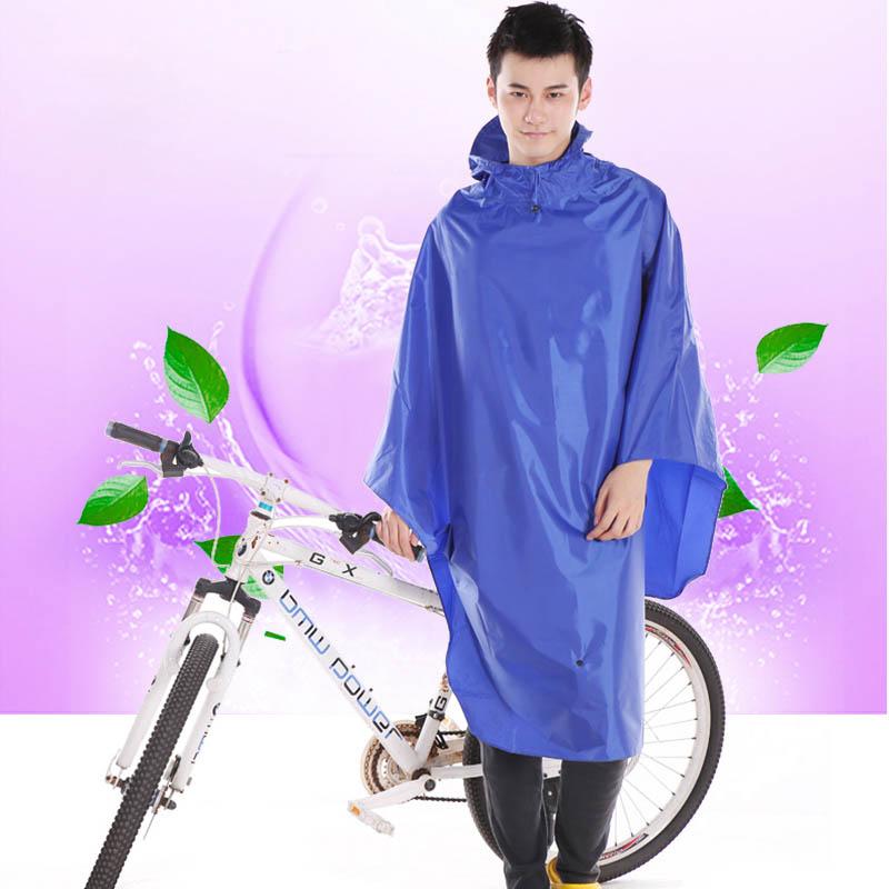 非洲豹电动车自行车单人成人时尚帽檐加大加厚男女雨衣雨披包邮