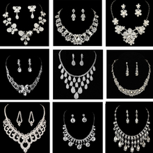 Bride wedding jewelry necklace with makeup wedding accessories chain wholesale
