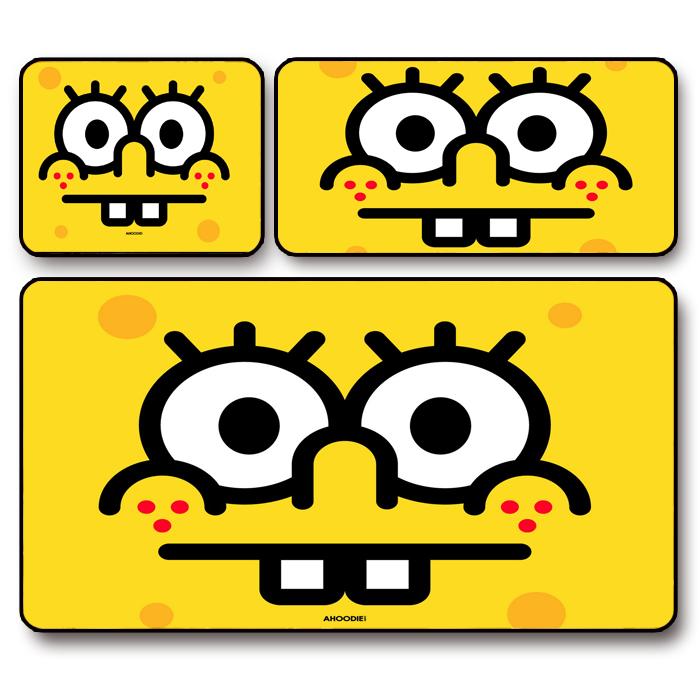 海绵宝宝鼠标垫包邮游戏动漫厚桌垫10月16日最新优惠