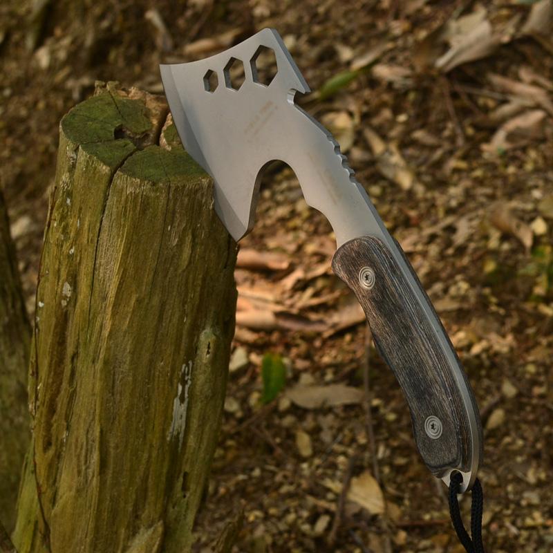 户外刀具用品消防斧子开山手斧野营斧工兵斧野外求生砍伐木斧头