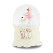 水晶球公主音乐盒八音盒芭蕾舞女孩生日七夕情人节礼物雪花JARLL