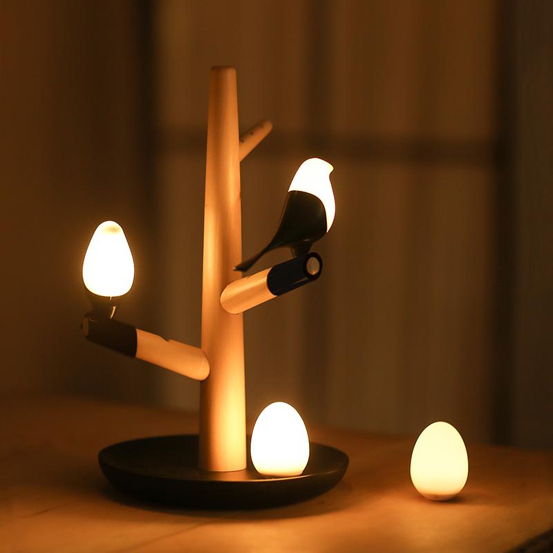 玄关灯光控喂奶灯LED喜上梢喜上眉梢小夜灯智能人体红外线感应