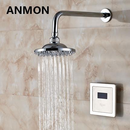 Anmon индукция душ устройство автоматический скрытый индукция душ устройство датчики головка душа скрытый душ