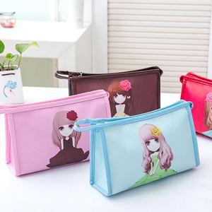 韓國可愛大容量化妝包女包防水手拿化妝品收納包洗漱包便攜小號