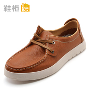 Shoebox shoes casual shoes men's shoes with rounded head of England low shoes 1115111001