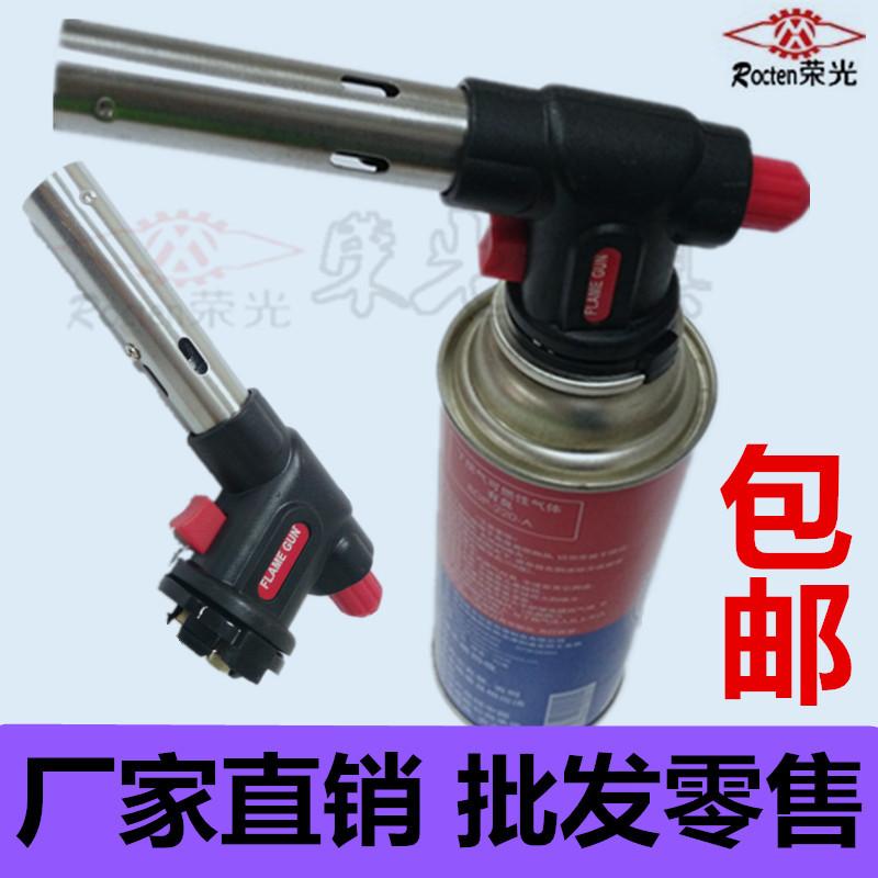 Корея FLAMEGUN электронный портативный открытый факел бутан газовый факел пламени метатель открытый покрасочный пистолет пистолет выпекать пистолет