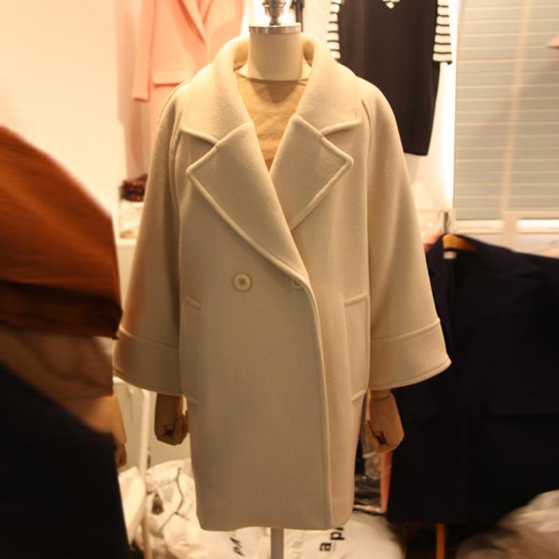 Корея 2015 зимний сезон новые восточные ворота корейских детей добавить хлопок мягкий слой длинной шерсти пальто