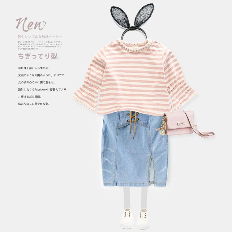 Девочки в больших детей ковбой юбка юбка юбка платье 2017 летний костюм ребятишки ребенок юбка U6733