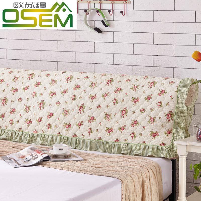 Европа провинция сучжоу прикрас корейский чистый хлопок край кровати покрытия ткань оригами хлопок прикроватный крышка стеганый спинка крышка пылезащитный чехол