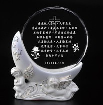 DIY Personality ceramic Color printing Crystal photo image custom Photo Creative send friend parents teacher Pendulum