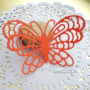 scrapbookdiy wedding albums decorative material disposed wall stickers window stickers glass paste hollow butterfly