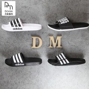 [dm]adidas阿迪男女沙滩澡堂拖拖鞋