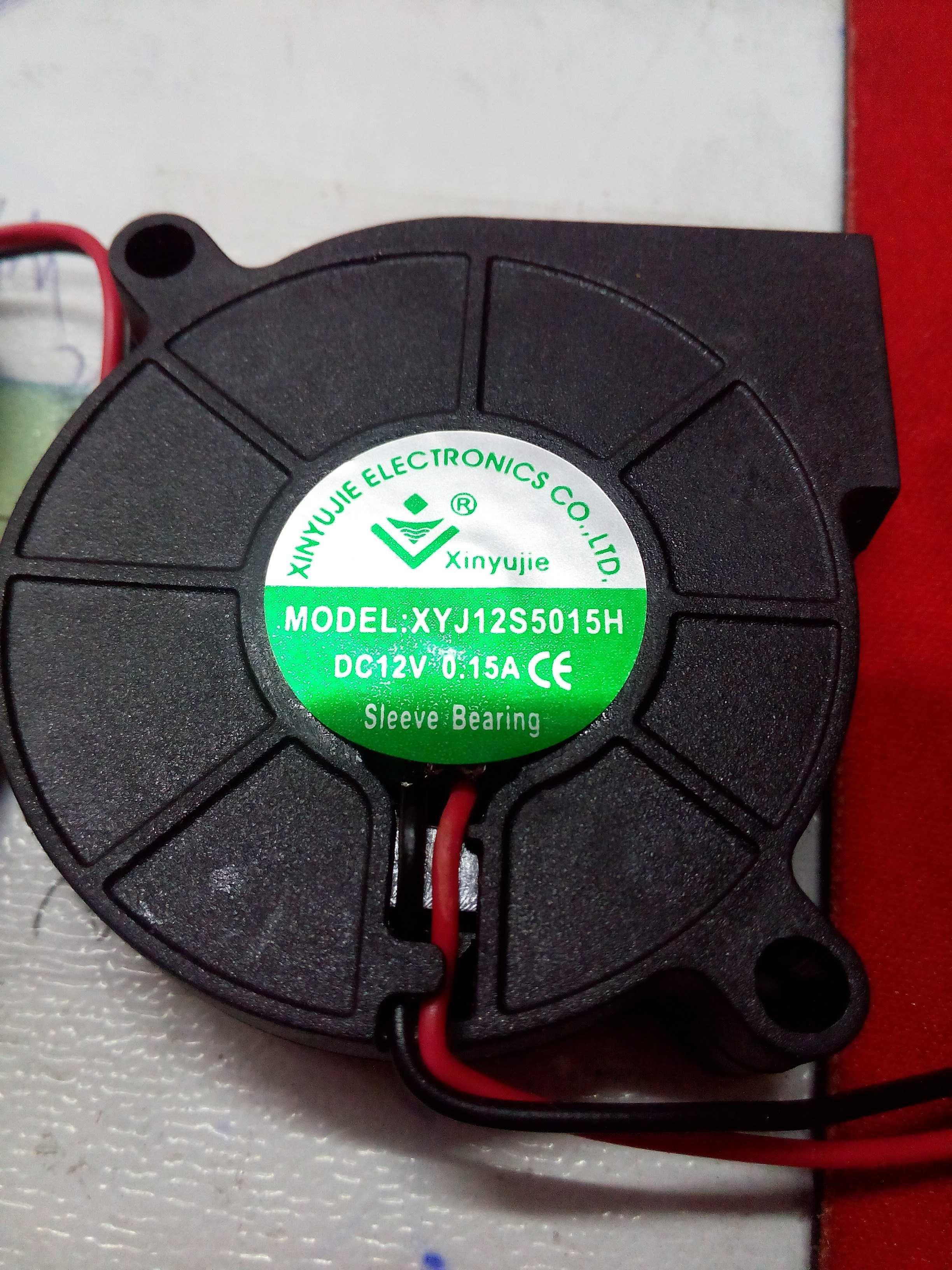 Должность нового звука 5015 5 см увлажнитель центробежный вентилятор 12 вольт 24 вольт вентилятор турбо Вентилятор