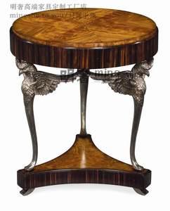电话边桌美式乡村新古典后现代地中海欧式客厅奢华边几角几装饰桌