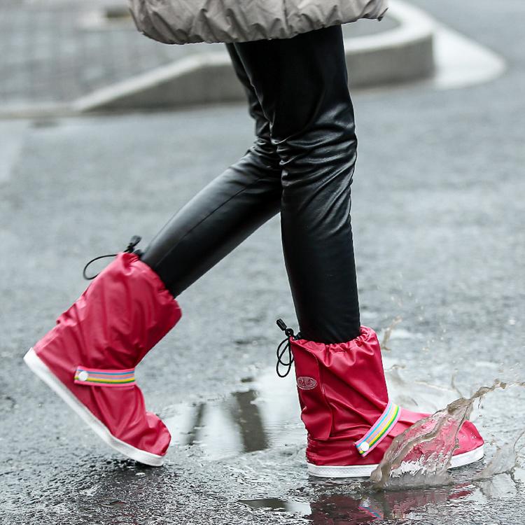 雨易思防雨防水鞋套鞋子雨衣雨披骑车电动车自行车旅游户外包邮