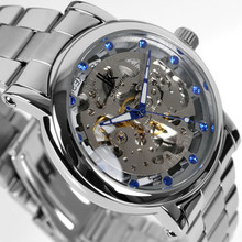 New authentic IK apache hollow out tide restoring ancient ways is contracted automatic mechanical men's watch.