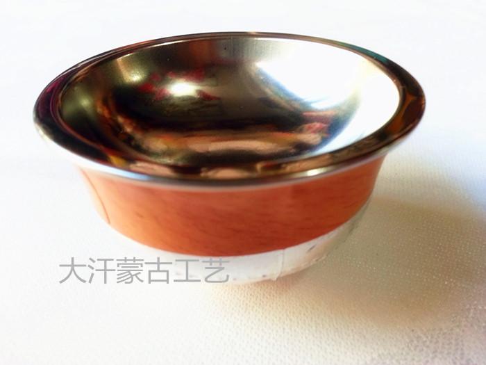 Монгольская чаша Монгольская серебряная чаша Тост 1 Серебряная чаша Монгольская чаша Диаметр 5.7 см высокая 3.5cm