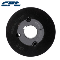 CPT Narrow v Belt wheel spa95-02-1610 diameter 95 double groove pulley containing cone sleeve can be customized small belt wheel