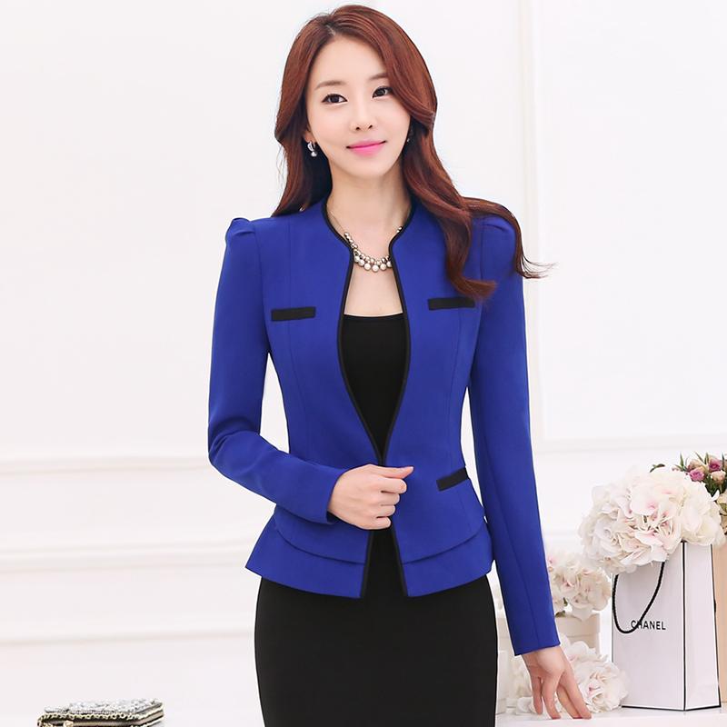 秋冬新款职业装女装套装套裙正装修身韩版气质长袖小西服工作服