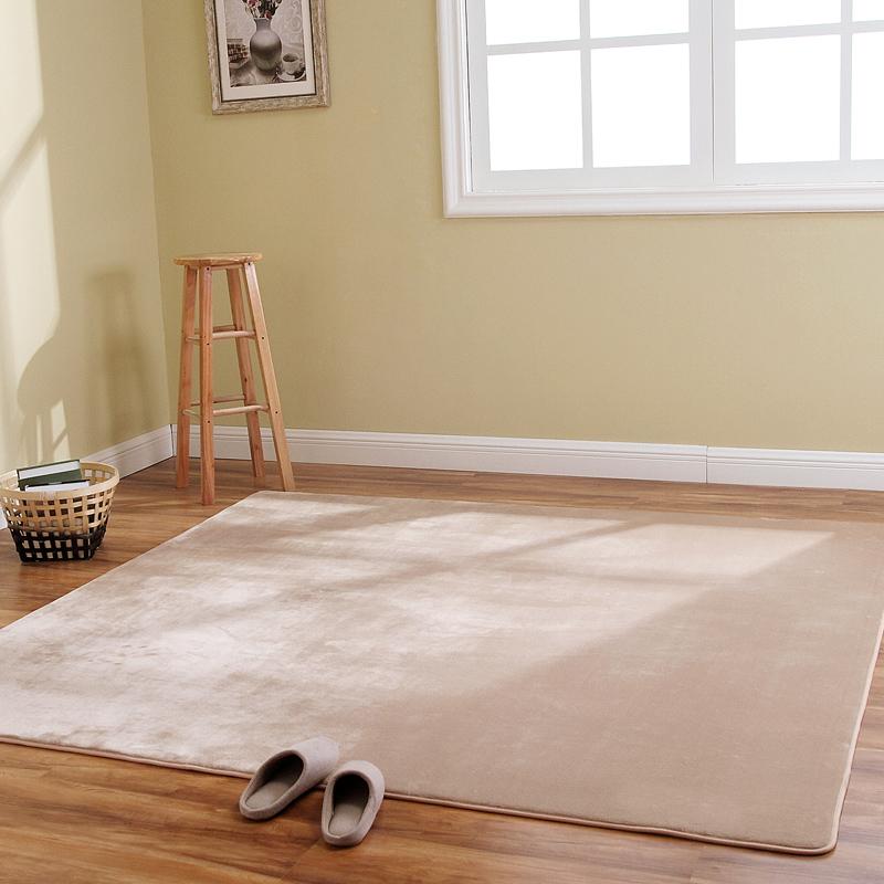 Коралл ковер гостиная кофейный столик диван спальня полный магазин кровать край эркер простой современный прямоугольник сделанный на заказ ковер