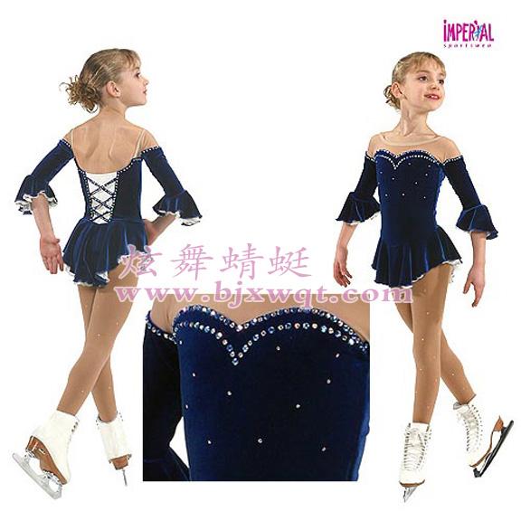花样滑冰服艺术体操服滑冰表演服溜冰服韵律体操表演服运动服HBF