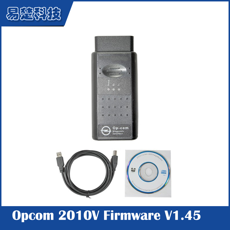 Высокое качество обнаружения/ОП COM/OPCOM/OP-COM 2010 V1.45 Opel диагностическая линия