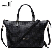 Danxilu women bag handbag fashion shoulder bag lady bag 2016 new hand-woven handbag