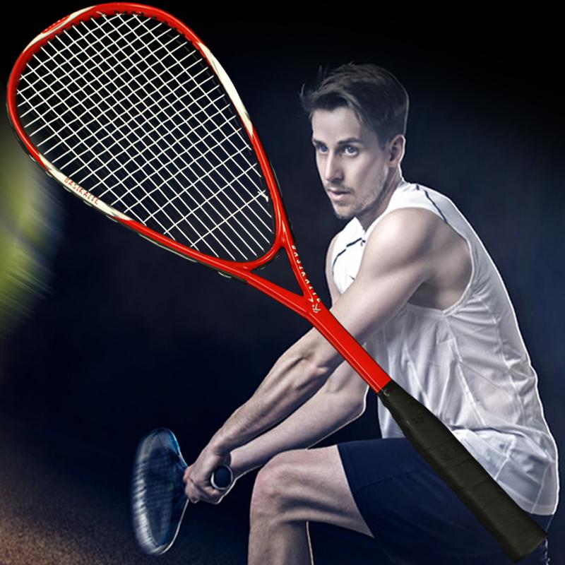 全碳素壁球拍 比赛壁球全套健身男女器材训练器超轻单人初学套装