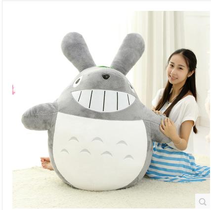 宮崎駿龍貓大號公仔玩偶毛絨玩具抱枕布娃娃生日禮物女1.4米1.6m