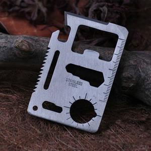 户外野营用品多功能瑞士军刀卡信用卡式卡片便携万能工具卡折叠刀
