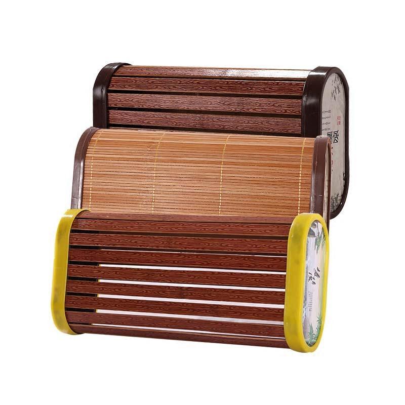 包邮大号办公室午睡汗蒸家居夏季竹子制头枕清凉麻将块空心竹枕头