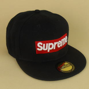Classic black Edison supreme hater snapback hat baseball cap hip hop hat Korean Women