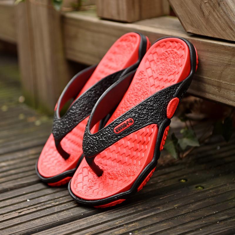 2018新款夏季男士人字拖男凉拖鞋韩版潮流防滑时尚外穿大码沙滩鞋