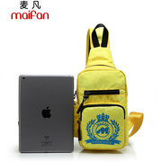 Maifan chest Pack package new Korean wave package for men and women fashion small satchel slung travel bags for sports and leisure shoulder bags