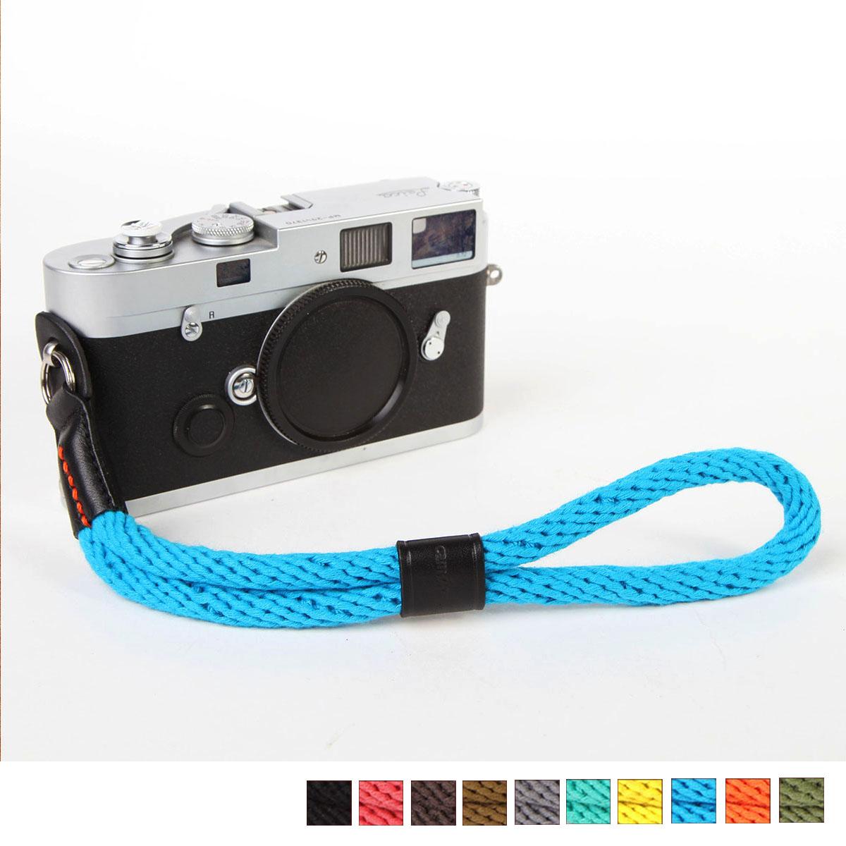 cam-in真皮棉织 微单相机手腕带细绳复古索尼A7 A6000 X-M CAM308