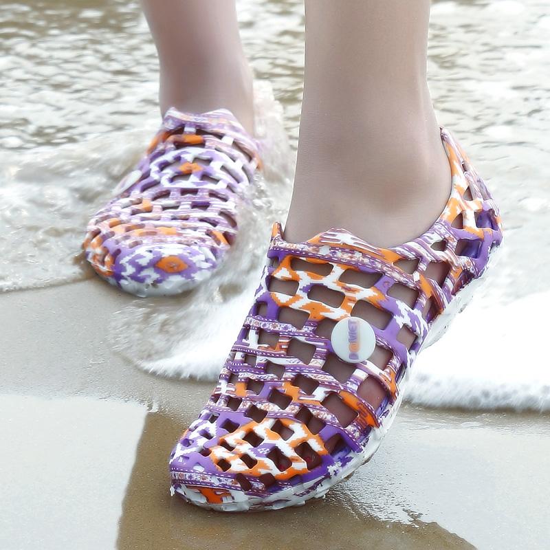 溯溪鞋男女涉水鞋 透氣速幹釣魚鞋朔溪涉溪水路兩棲空調鞋徒步