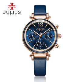包邮Julius聚利时2017石英机芯手表时尚防水韩版女日韩腕表JA-958图片