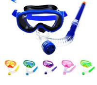 Summer Kids Scuba Diving Mask Set 2016 Children Antifog Half