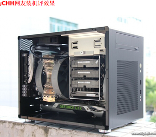 Authorized the Lian Li PC Q08 B power black aluminum chassis NAS Cheap strongest little Cannon