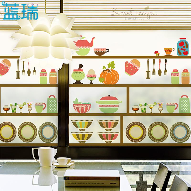 防曬靜電玻璃貼膜 餐廳廚房陽台窗戶磨砂玻璃貼紙隔熱膜 秘密配方