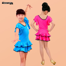 The new counters authentic Latin dance Latin dance uniforms cowboy costumes female new children