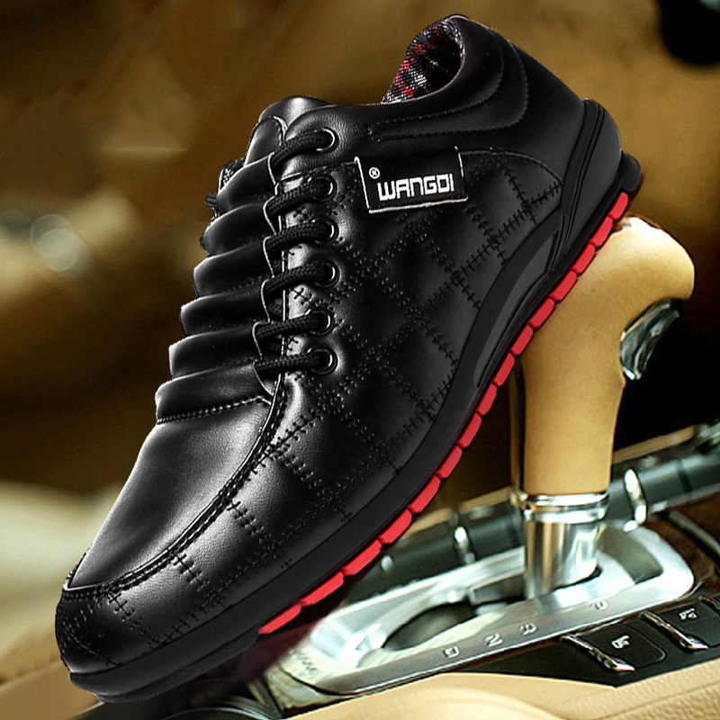 Tide shoes men 39 s shoes breathable young korean business lace up