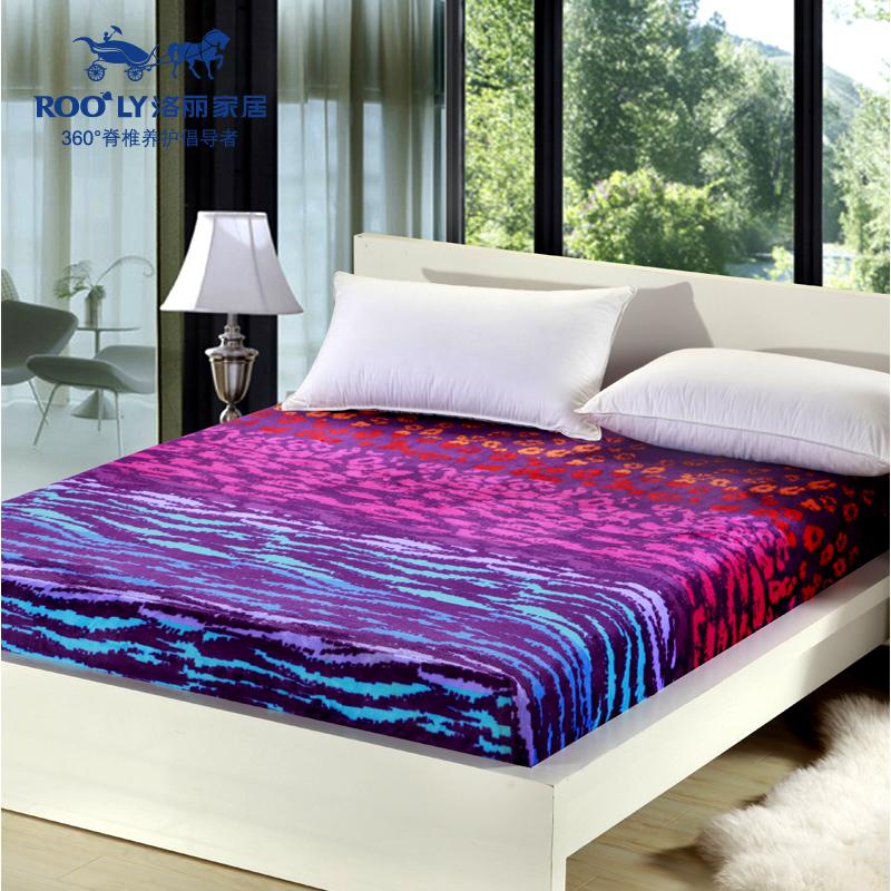 加厚珊瑚絨法蘭絨席夢思保護墊床套床裙防滑床單床笠床罩1.8m