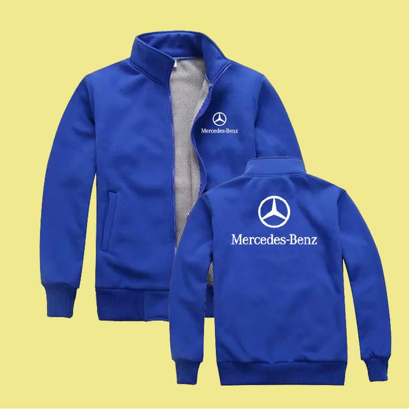 Mercedes-Benz молнии куртка 4S магазин инструмент и пользовательские формы в зимний и кашемировый свитер Audi Honda logo балахон