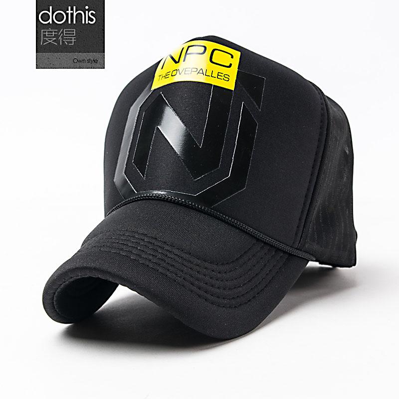 度得2016 男女情侶帽三人加固帽身網帽貨車卡車帽子包郵