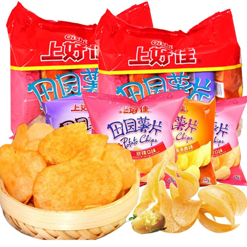 上好佳田园组合装5连包吃货美食(用1元券)