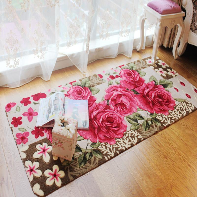 Роуз сад цветов цветок, бутон эркер одеяло спальня кровать к.