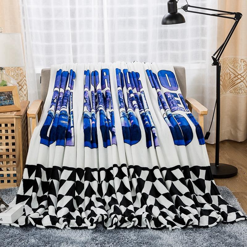 昕羽夢 加厚款空調毛毯午睡毯子加厚法蘭絨單人床單雙人蓋毯